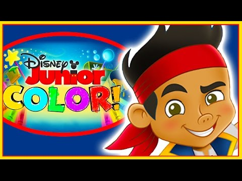 Disney Junior Color - Jake And The Neverland Pirates Coloring Book ...