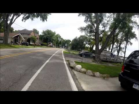 Walled Lake, Bayside Sports Grille, Lakeshore Park [HD] 38 min