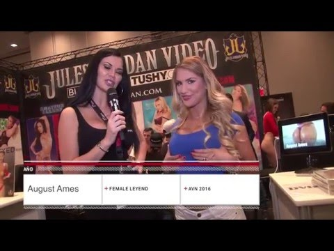 PornDoe Premium interview with August Ames @ the AEE Expo 2016