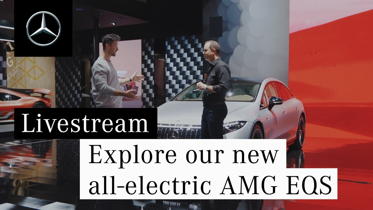 Explore our new all-electric AMG EQS