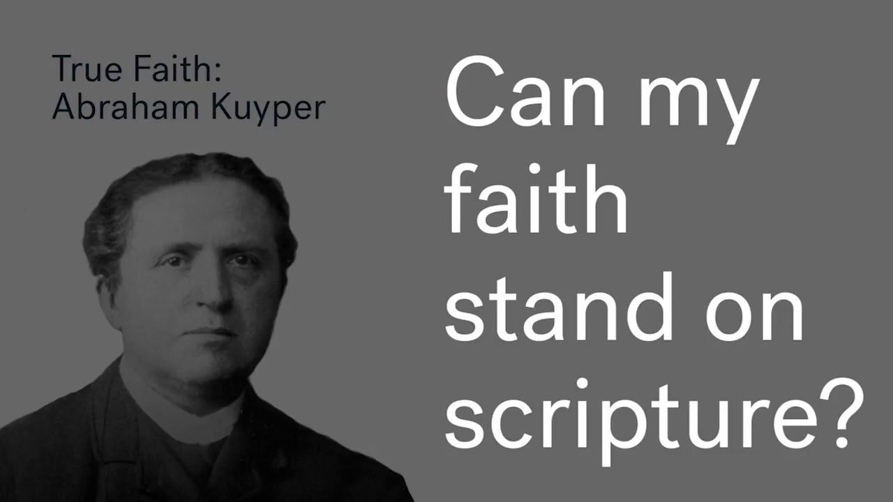 True Faith Wk 3 | Abraham Kuyper Cover Image