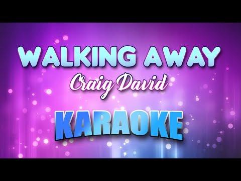 Craig David - Walking Away (Karaoke version with Lyrics)