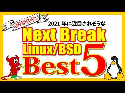 【勝手にランキング!】次に注目される Linux / BSD はナニ?! Next Break Ranking Best 5