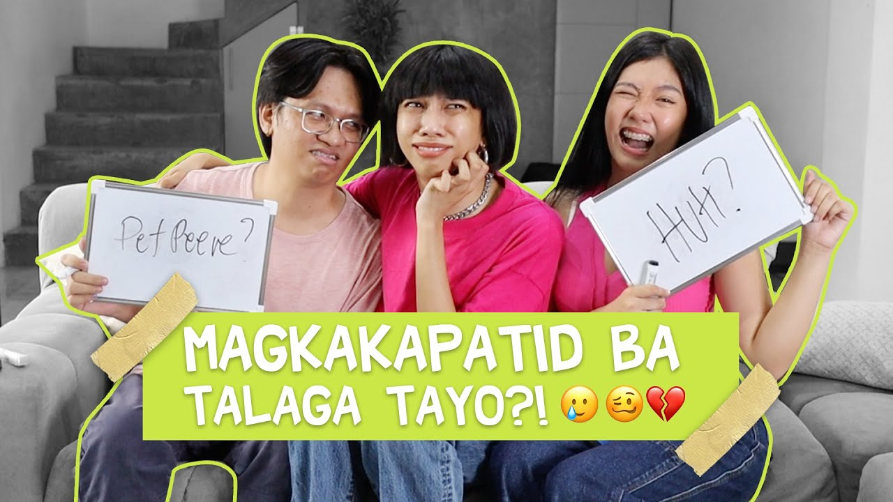 WHO KNOWS ME BETTER WITH MY SIBLINGS! (JUICY REVELATIONS) | MIMIYUUUH
