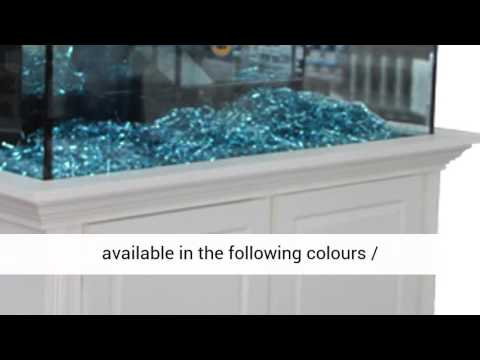 ROSEWOOD Modern Cabinet Aquarium Fish Tank Marine