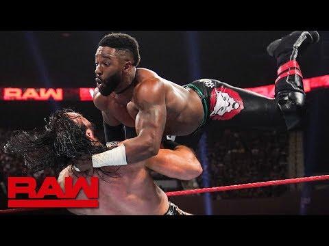Cedric Alexander vs. Drew McIntyre: Raw, July 15, 2019