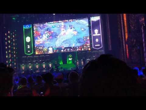 Ad Finem vs OG Game 3  End Crowd Going Wild!!!