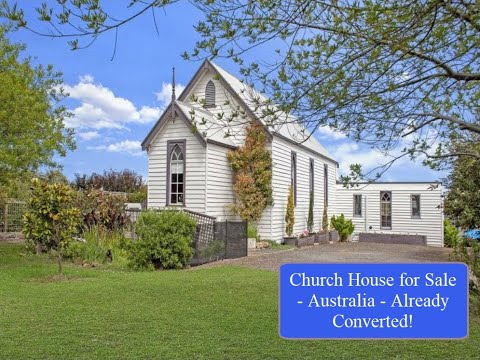 CHURCH HOUSE FOR SALE WITH OCEAN VIEWS – AUSTRALIA