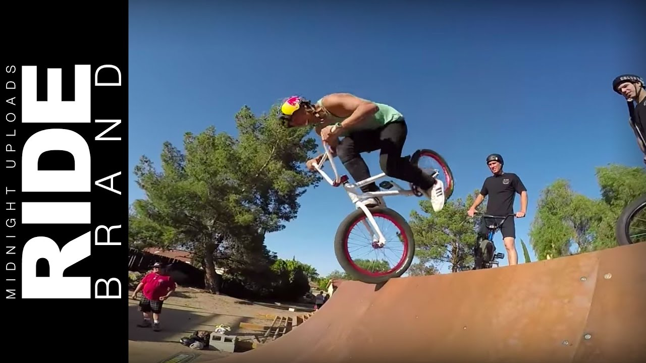 kaden stone bmx backyard jam lil pros tour california session