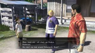 Yakuza 3 part 1 - Full story line with all the cutscenes, dialogs and english subtitle