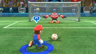 Football -Team Jet vs Bowser and Team Mario vs Shadow -Mario and Sonic at The Rio 2016 Olympic Game