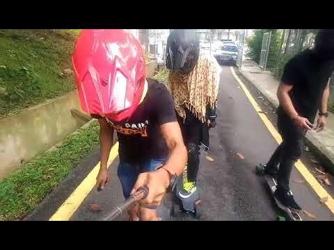 Malaysia Electric Skateboard Downhill In Kuala Lumpur