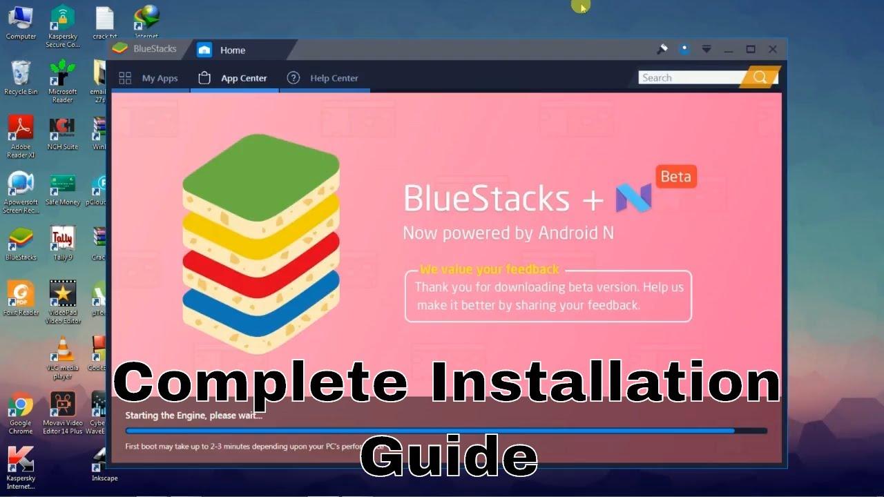 bluestacks setup guide