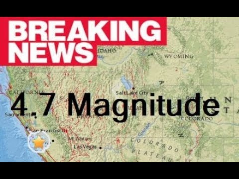 BREAKING: Powerful earthquake strikes California - Oppenheimer Ranch Project Live Stream