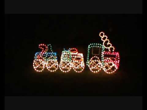 3d santa ropelight train youtube 3d santa ropelight train aloadofball Gallery