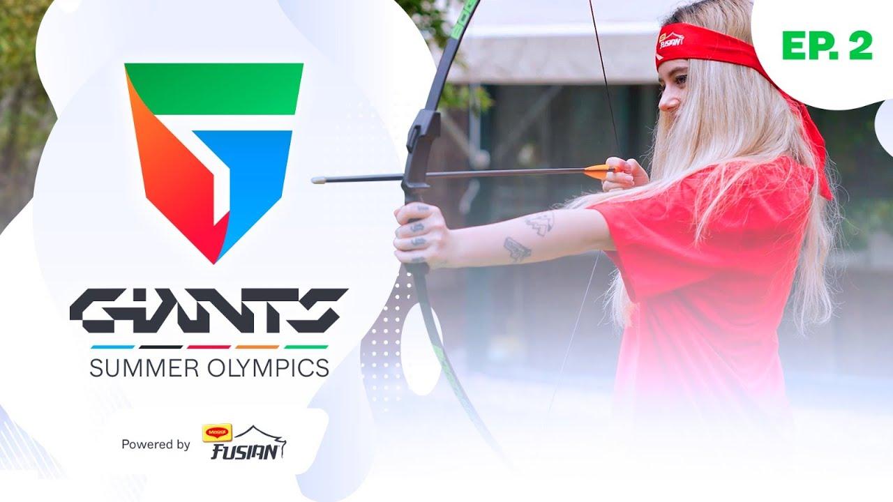 🤦🏻♂️ LA PUNTERÍA NO ES LO SUYO   ATTILA VS KAMI   TIRO CON ARCO   GIANTS SUMMER OLYMPICS 🏅⚽️