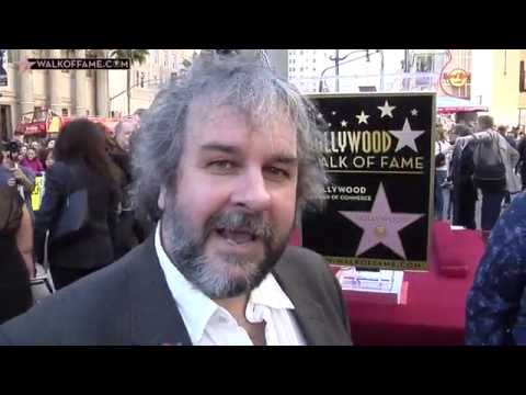 DIRECTOR PETER JACKSON HONORED WITH HOLLYWOOD WALK OF FAME STAR