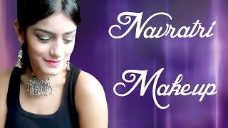 Navratri Makeup 2014 | Easy Gold Smokey Eyes Thumbnail