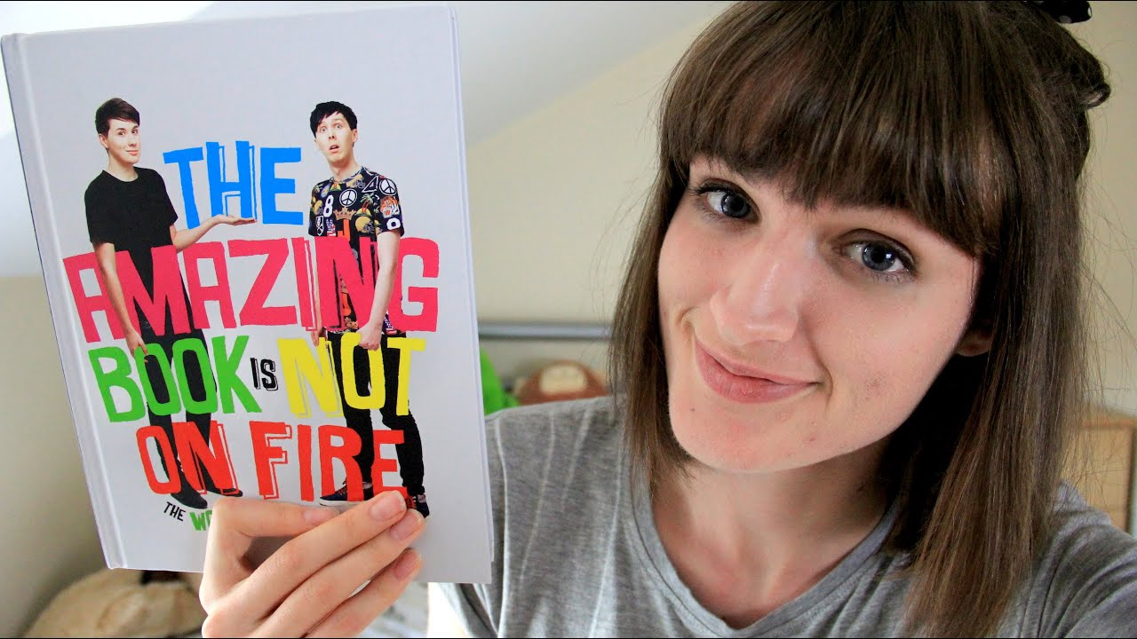 the amazing book is not on fire review