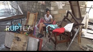 Cuba: Havanans clear up Hurricane Irma havoc as storm rolls north
