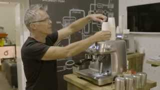the sage oracle the automated manual espresso machine launch at the london coffee festival