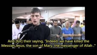 Fatih Seferagic - Surah An Nisa' 155 - 160 [with subtitles]