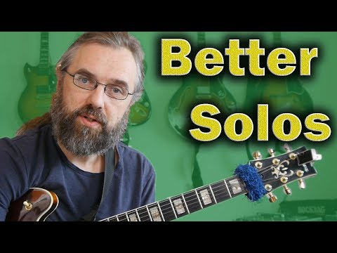 A Guitar Solo is NOT only Scales and Arpeggios