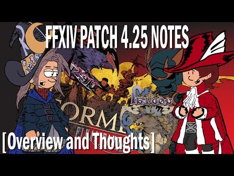 FFXIV Patch 4.25 Notes [Overview and Thoughts]