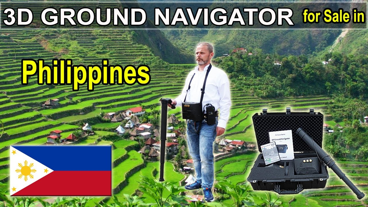 3D Ground Navigator detector for Sale in Philippines | Gold detectors 2017