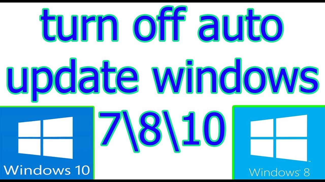 cancel auto update windows 8