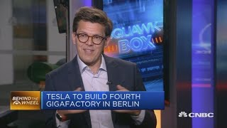 Core of Tesla is 'new architecture': Academic | Squawk Box Europe