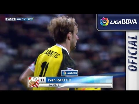 Gol de Rakitic (3-1) en el Real Madrid - Sevilla FC - HD