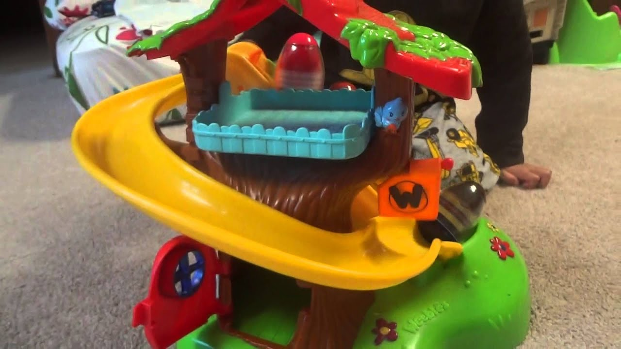 Amazing Playskool Weebles Musical Treehouse Part - 13: Toy Weebles Treehouse