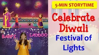 5 days of Diwali Celebration in 5 minutes!   How to & Why We Celebrate Indian Festivals