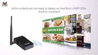 ViewSonic NMP 302w & Signage Manager Software Introduction