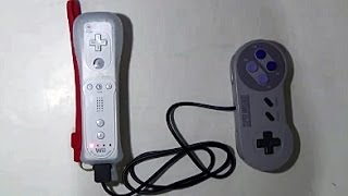 How to mod your SNES controller to Wii (U) remote (Plus)