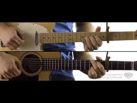Play It Again - Guitar Lesson and Tutorial - Luke Bryan