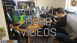 How I make tech review videos