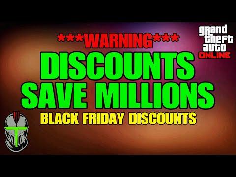 ***WARNING*** DISCOUNTS SAVE MILLIONS GTA Online