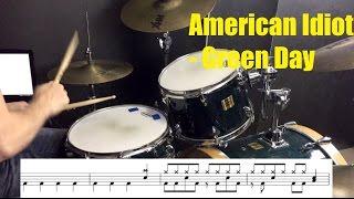 American Idiot Drum Tutorial - Green Day