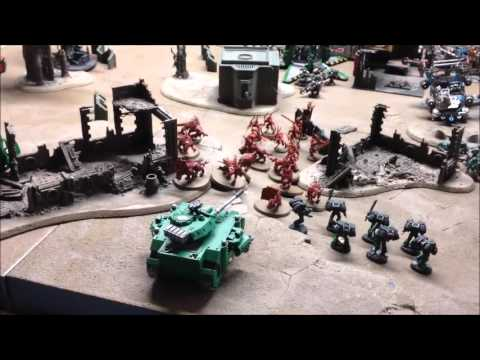 Orks Vs Space Marines batrep. Narrative Campaign mission 4. Warhammer 40k 3000pts