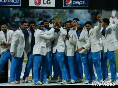 Champions Trophy Special Theme RAP Song by Rapper MRIDUL Dedicated to cricket lovers and INDIAN TEAM