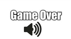 Download game over sound mp3 or mp4 free