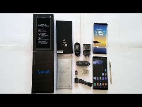 Samsung Galaxy Note 8 Review (Maple Gold) Indonesia