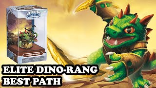 Skylanders Superchargers - Elite Dino Rang - Grand Boomerang Master Path - BEST PATH - GAMEPLAY