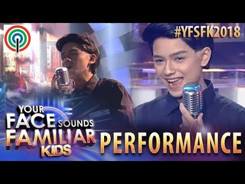 Your Face Sounds Familiar Kids 2018: Noel Comia Jr. as Martin Nievera | Say That You Love Me