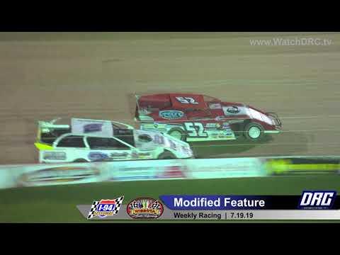 I-94 Speedway 7/19/19 Mod Feature Final Laps