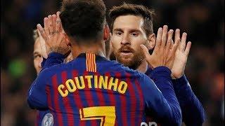 FC BARCELONE vs OL LYON (5-1) || CHAMPION'S LEAGUE 13/03/2019 || ALL GOALS & HIGHLIGHTS