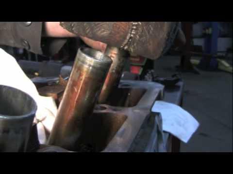 Fixing spark plug tubes