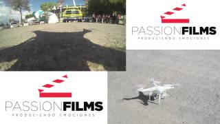 GoPro DJI Phantom Toma Aerea Estadio Universitario UANL 16Ago2013
